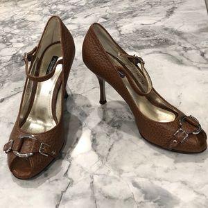 Dolce & Gabbana high heel peep toe